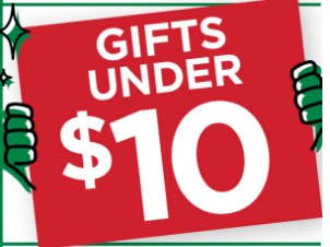 Gifts under 10 USD