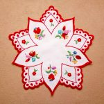 star shaped embroideries